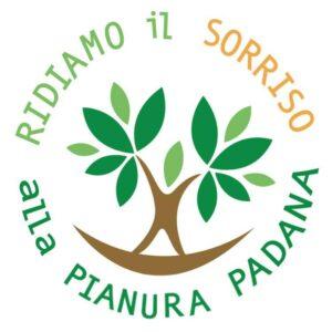 Il logo dell'iniziativa regionale Ridiamo il sorriso alla Pianura Padana