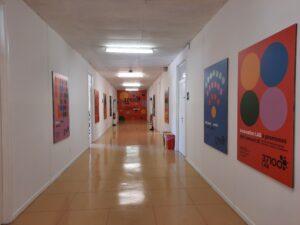 La sede di 37100Lab all'ex scuola Scuderlando